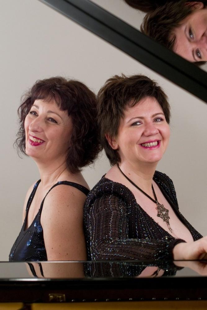 Photo des artistes Christiane Baume et Dana Ciocarlie